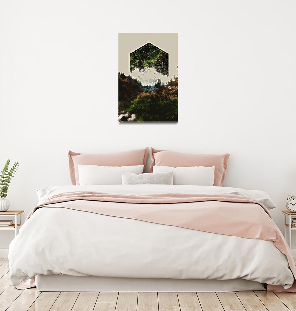 """geometry mountain""  by KrisLeov"