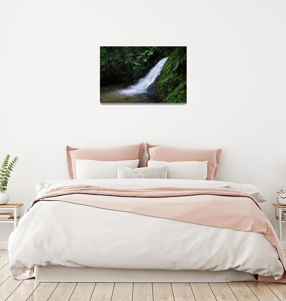 """waterfall""  (2012) by erinlanzendorfer"