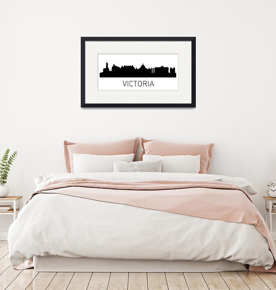 """""""Victoria Cityscape""""  by KWGart"""