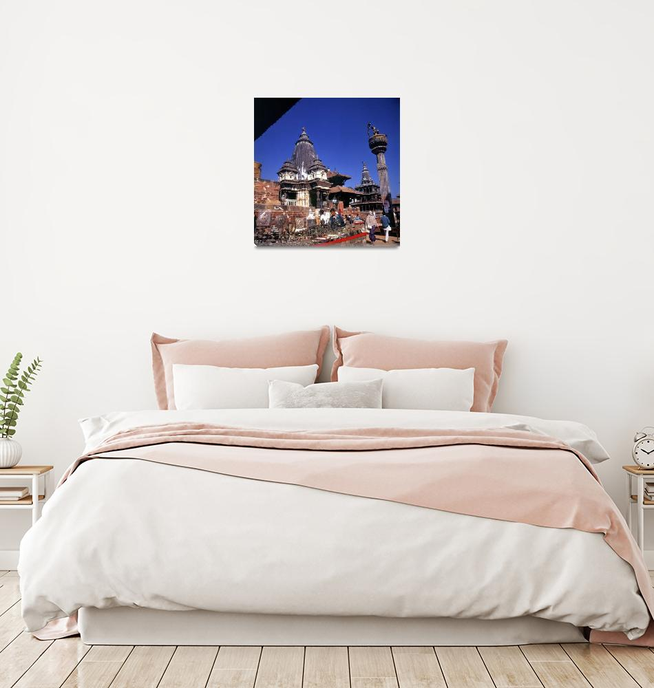 """""""Durbar Square""""  (1996) by JoaoPonces"""