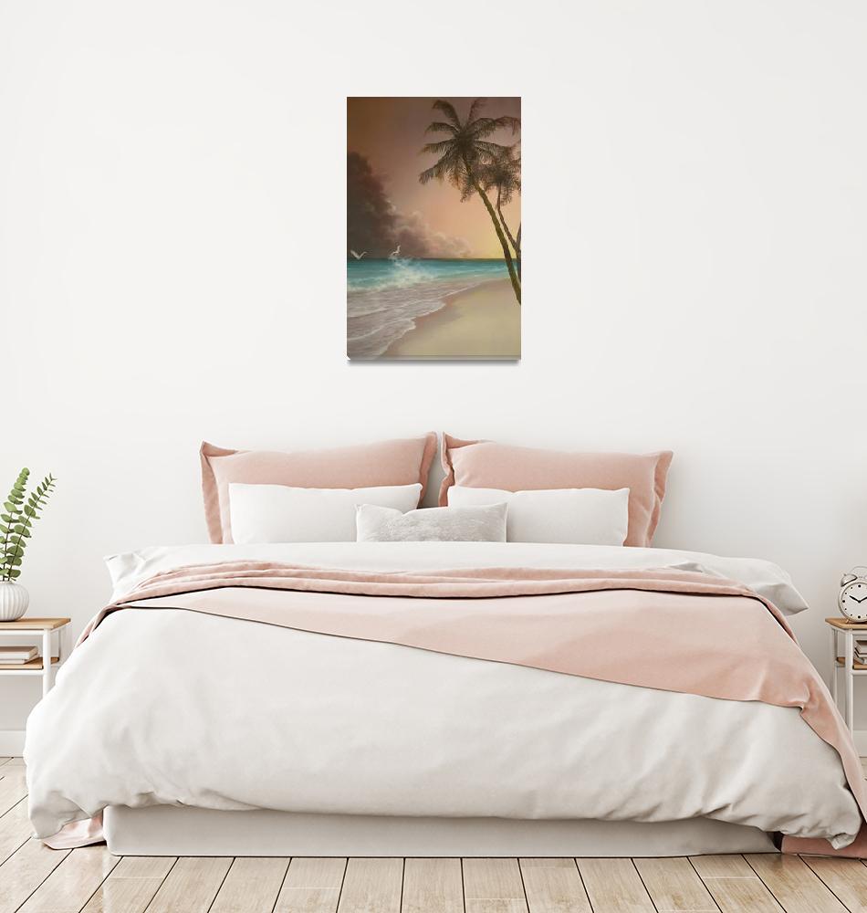 """Island Palms""  (2005) by jerrysauls"
