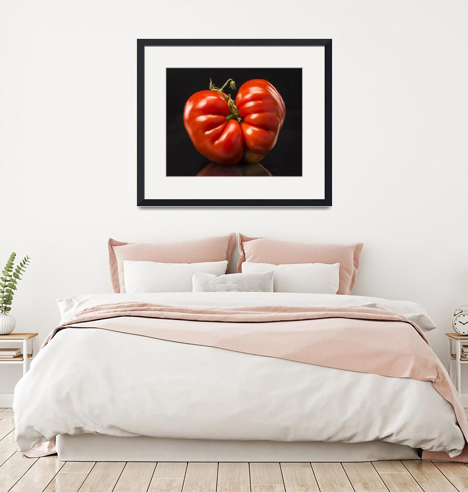 """""""Twin Red Tomato""""  (2014) by Clearycreativephoto"""