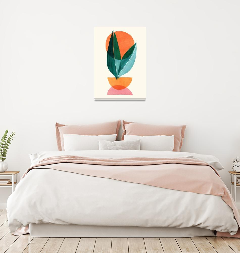 """Sunset Stack""  (2019) by moderntropical"
