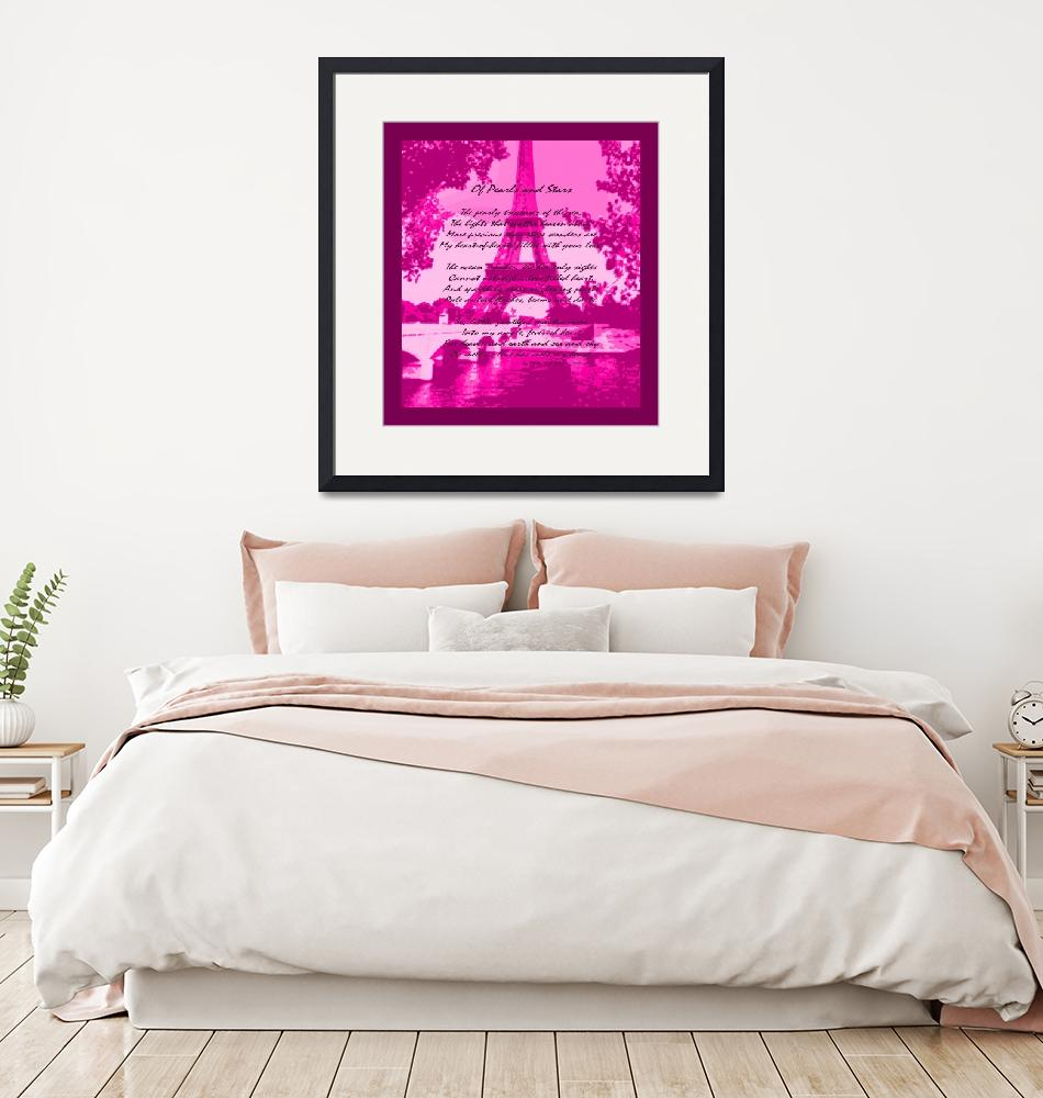 """""""Of Pearls & Stars Eiffel Tower Seine River VP 2""""  (2013) by TheNorthernTerritory"""