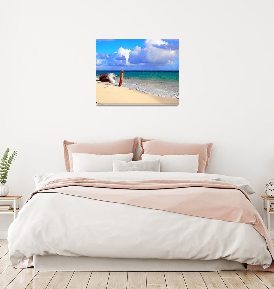"""""""Atlantic Horizon""""  (2009) by Caribbean-Digital-Art"""