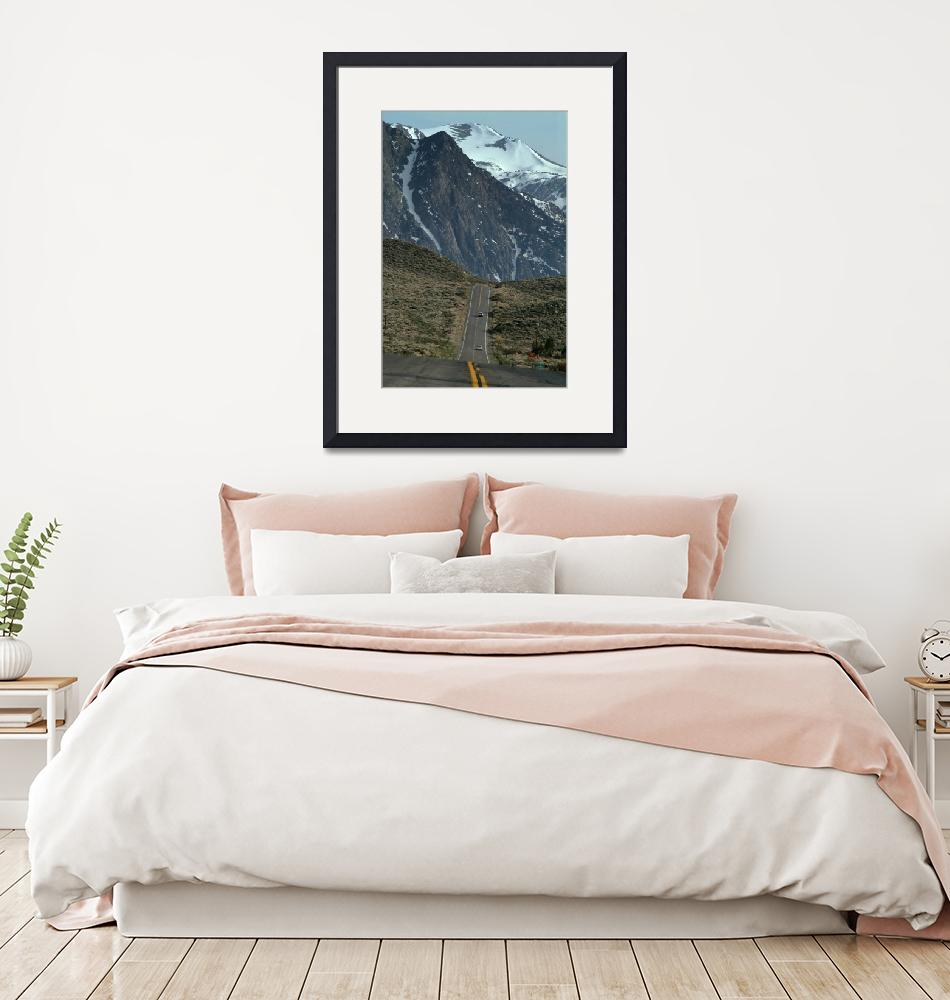 """June Lake Loop and Mountains""  (2005) by SederquistPhotography"