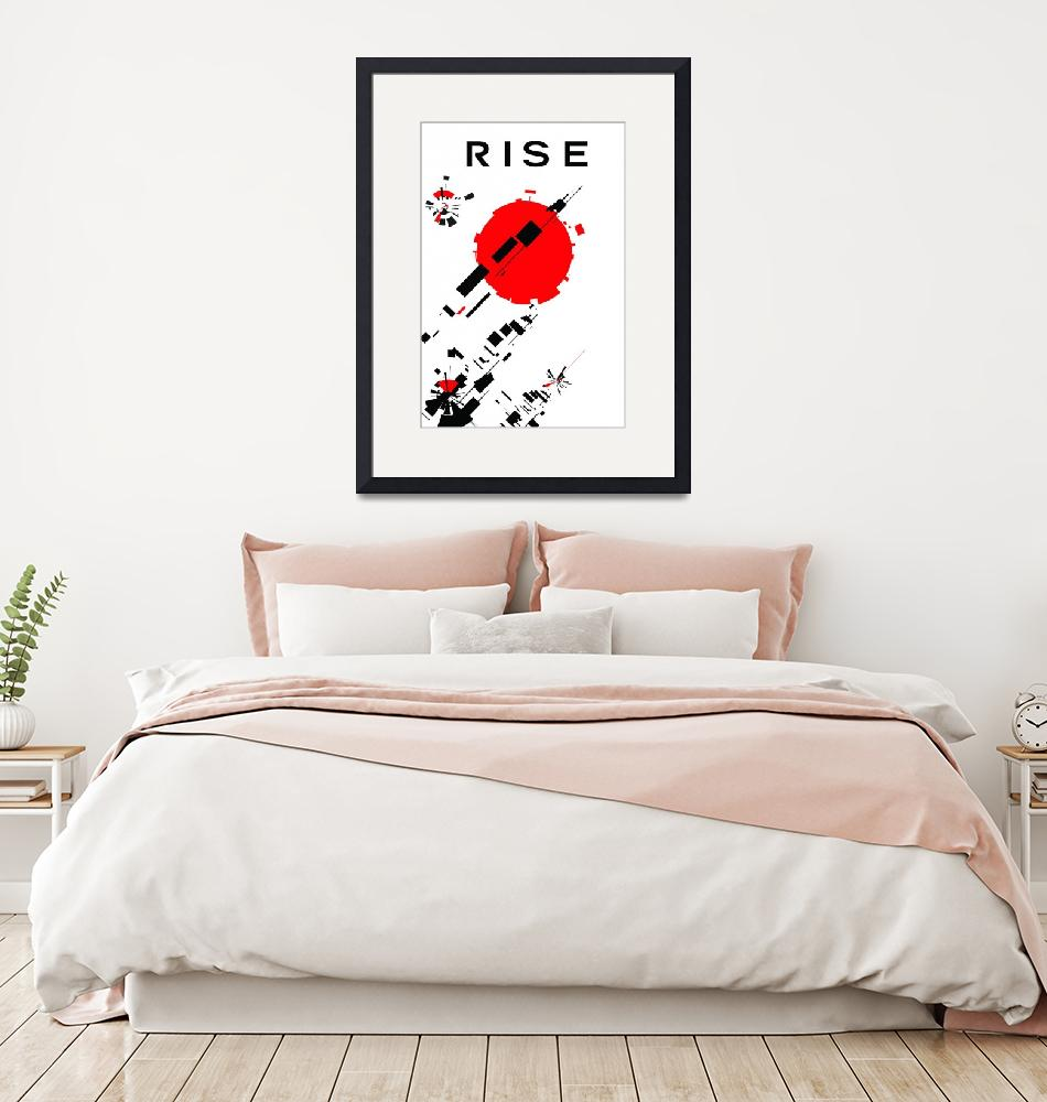 """rise""  (2009) by joemaguiredesign"