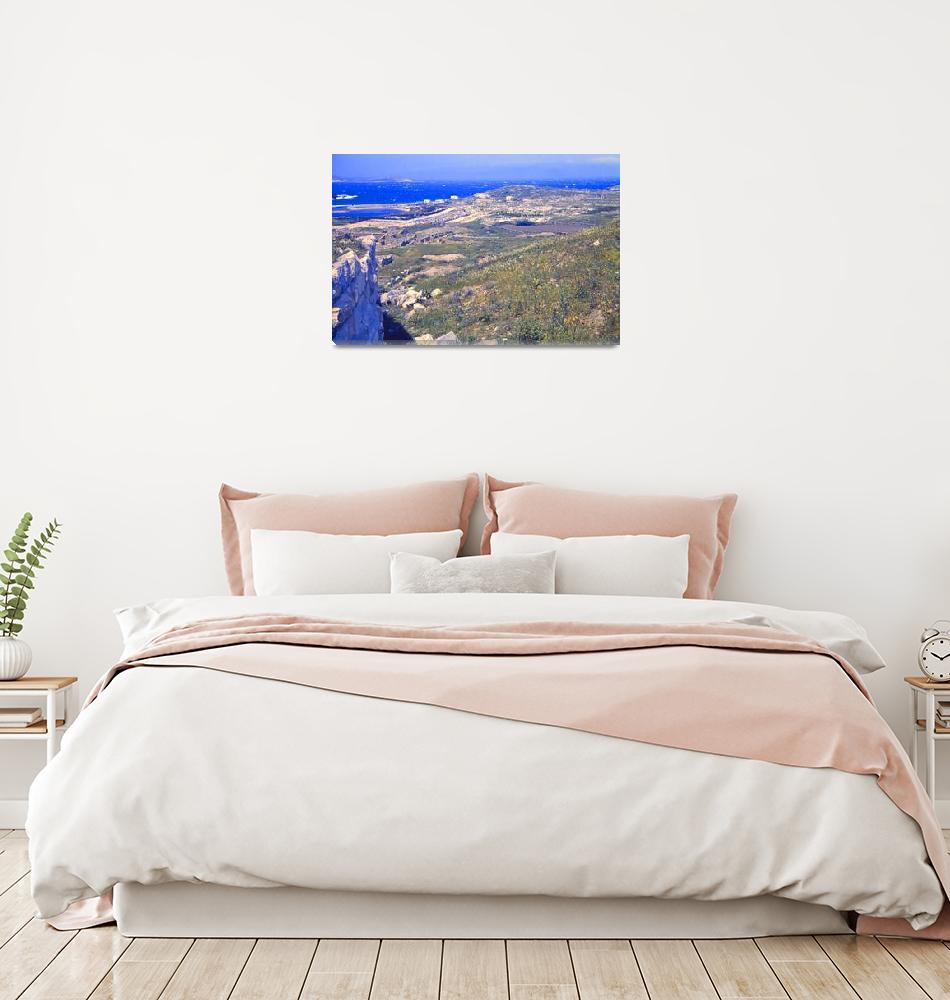 """Remains on Delos, Greece, Springtime 1960""  (1960) by PriscillaTurner"