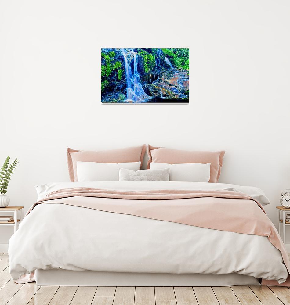"""waterfall""  by artistMichaelTodd"