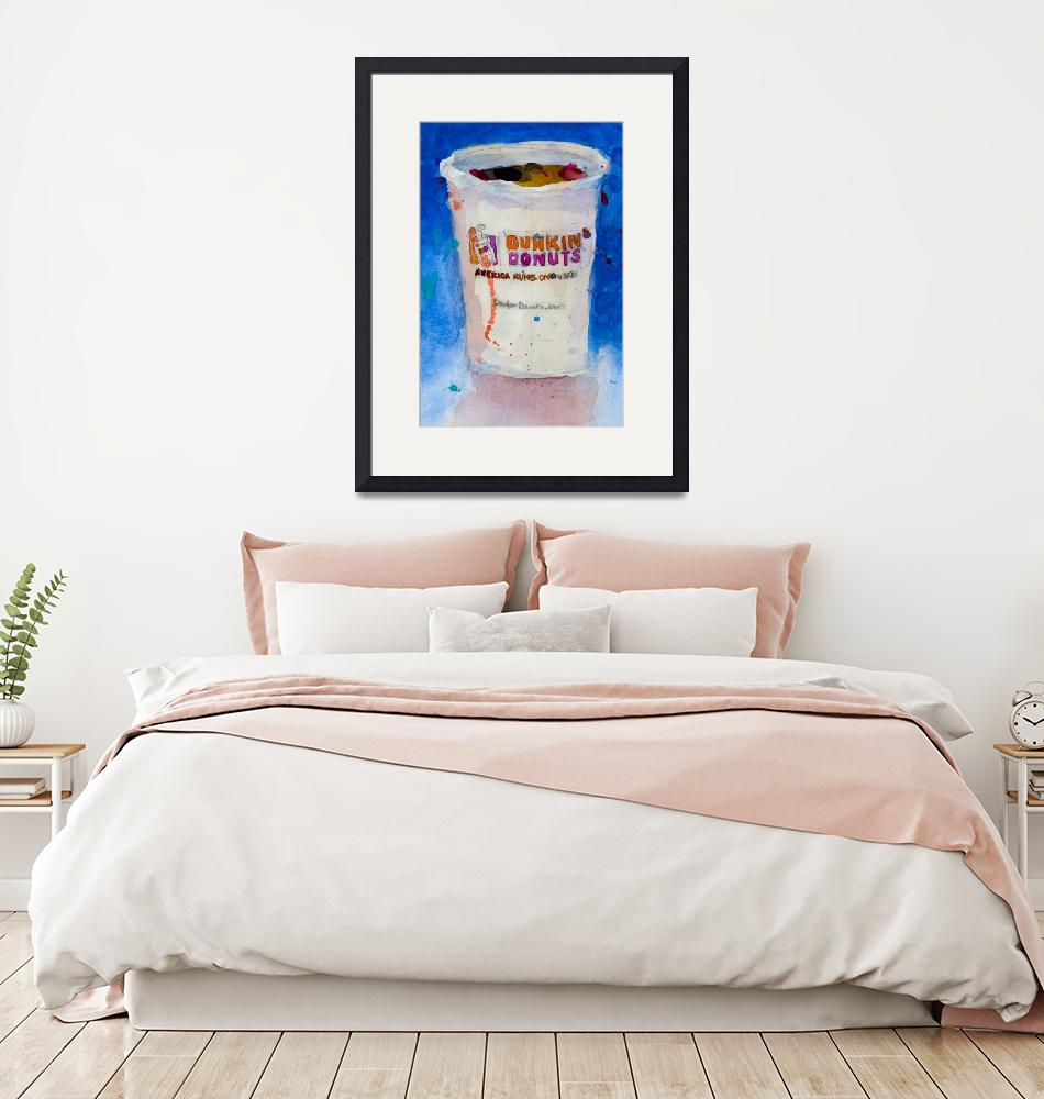 """""""DUNKINDONUTS""""  by dfrdesign"""