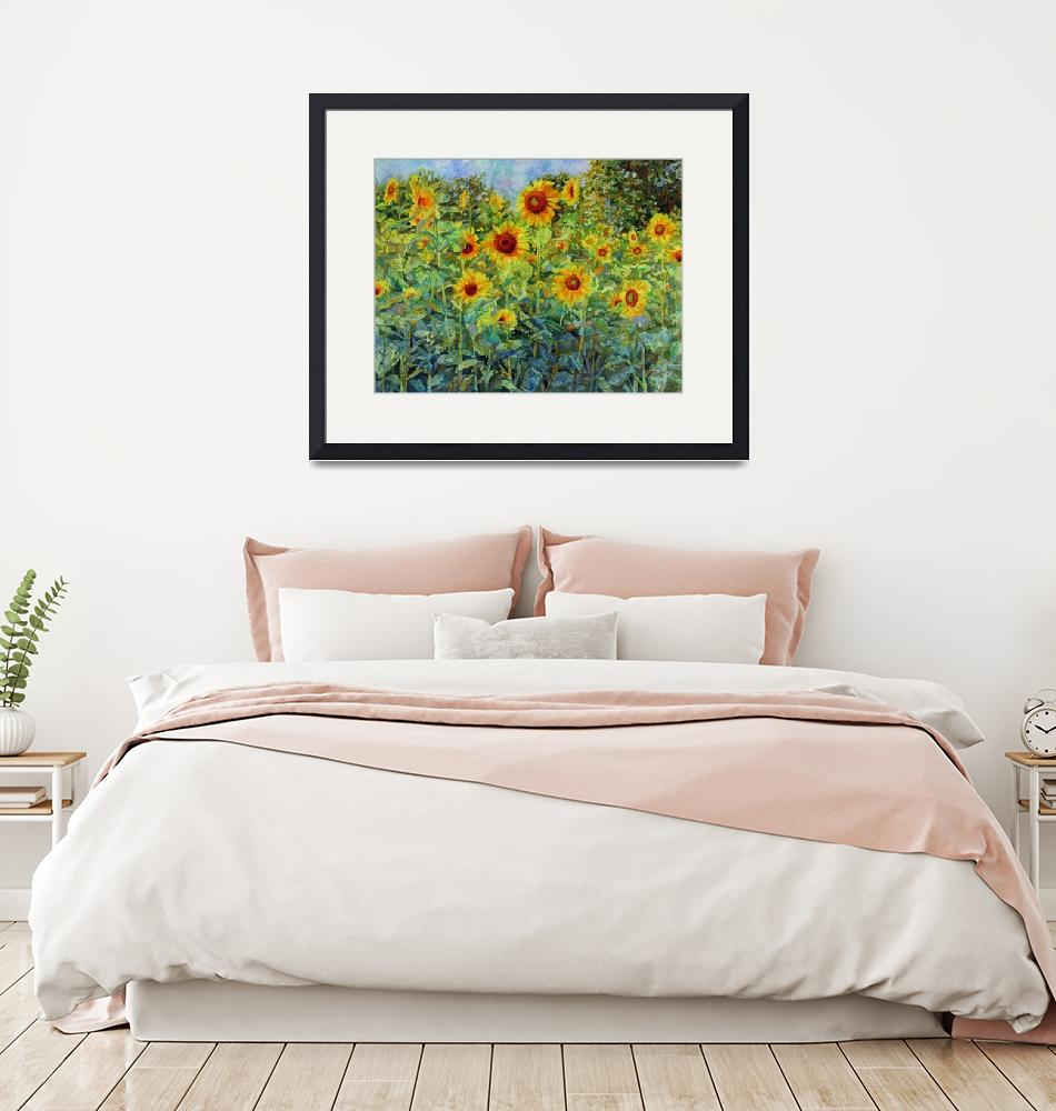 """Sunny Meadow""  (2019) by HaileyWatermedia"