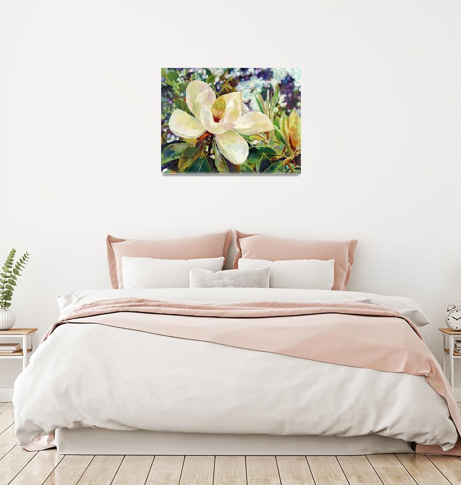 """Magnolia Melody""  by HaileyWatermedia"