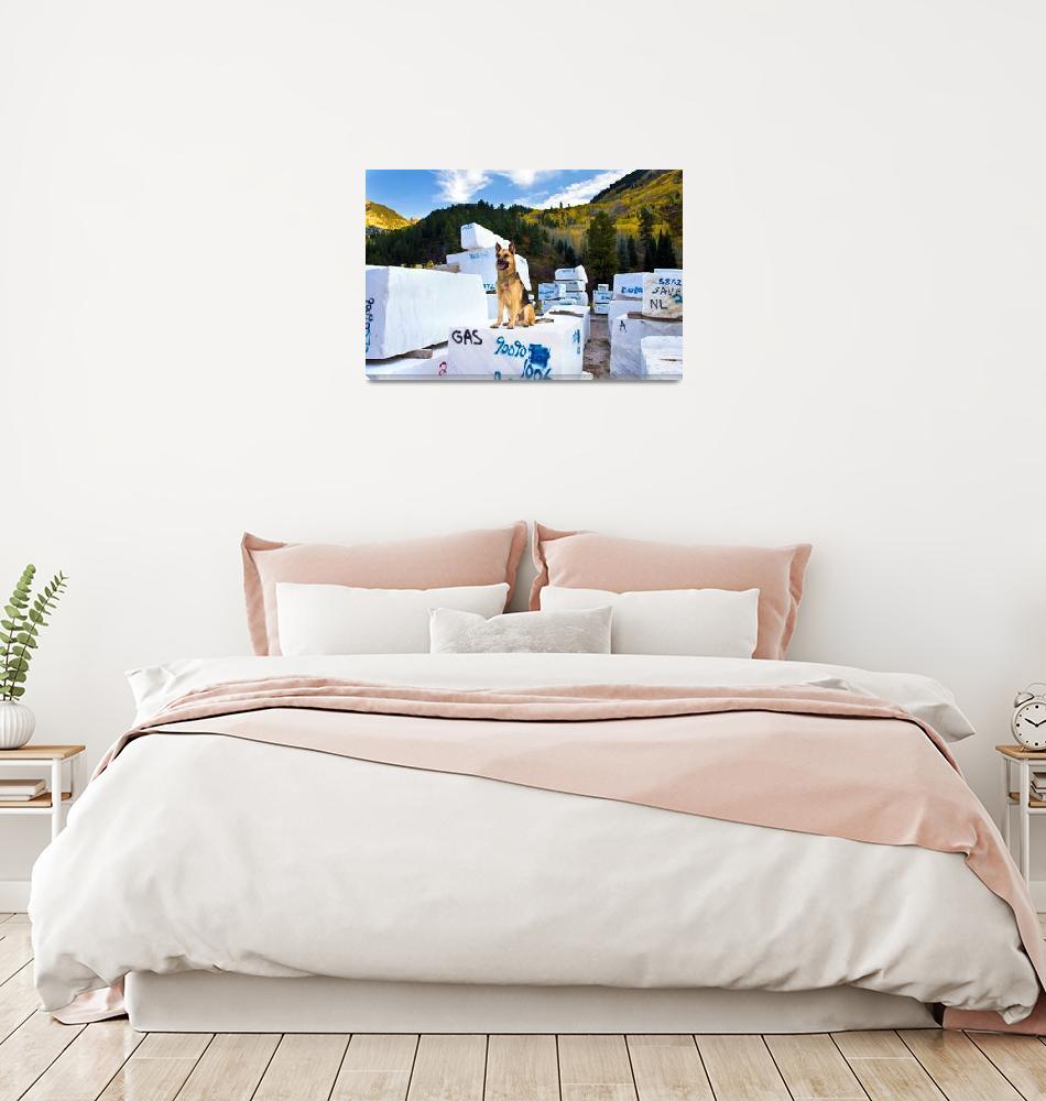 """At Marble, Colorado""  by pbk"