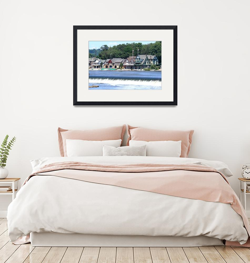 """""""Boathouse Row""""  (2009) by FordLou"""