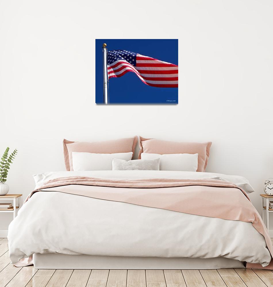 """God Bless America""  (2010) by bettynorthcutt"