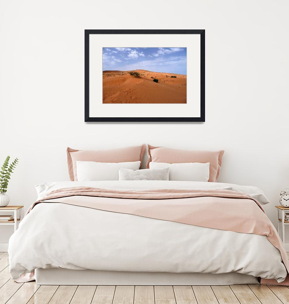 """""""Morocco, Desert landscape""""  (2008) by dhome"""