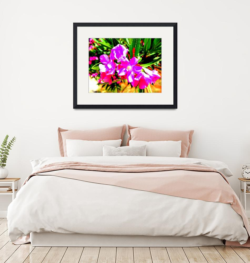 """""""Abstract Flowers on Cyprus""""  by Artsart"""