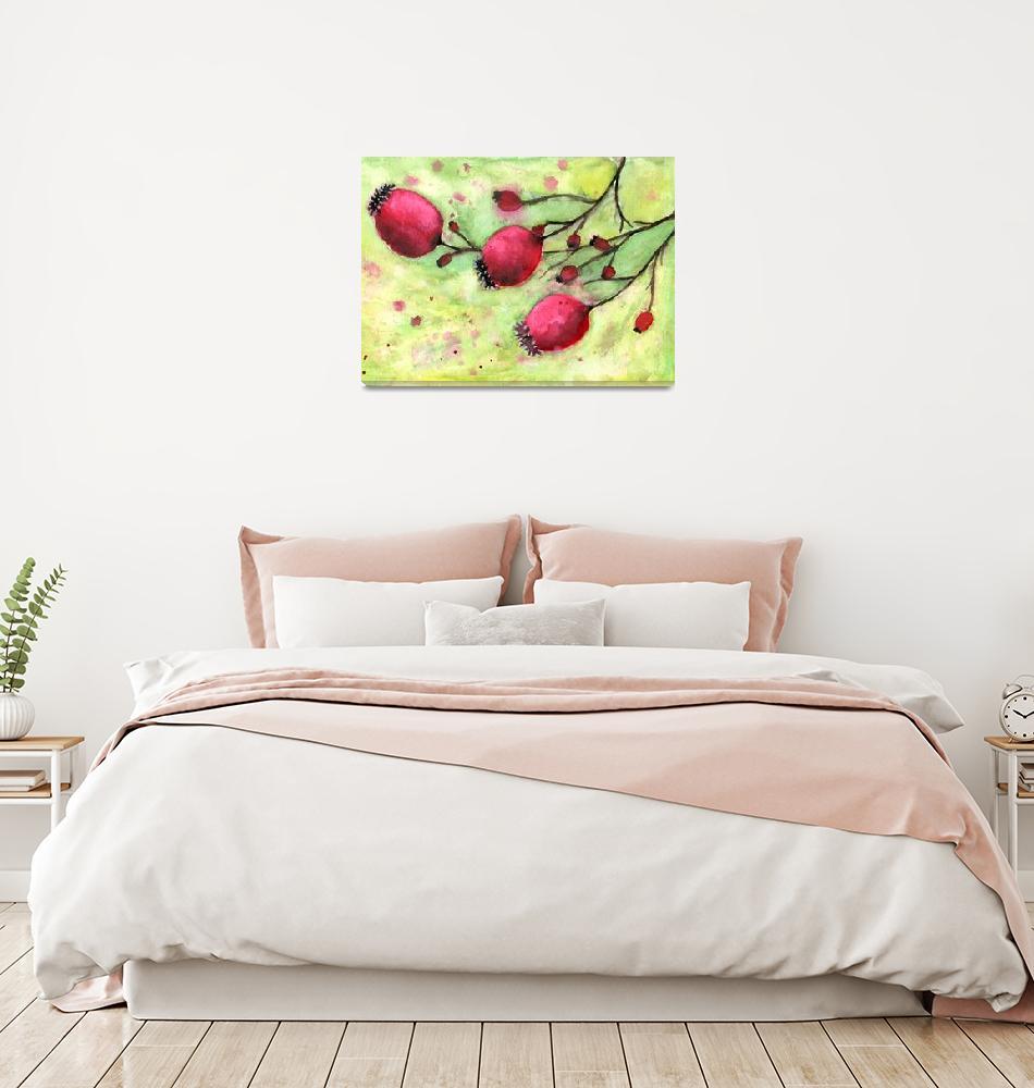"""""""Winter_Berries""""  (2019) by JosyanMcGregor"""