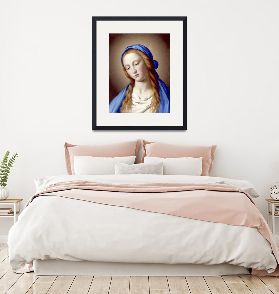 """The Madonna""  by catholicart"