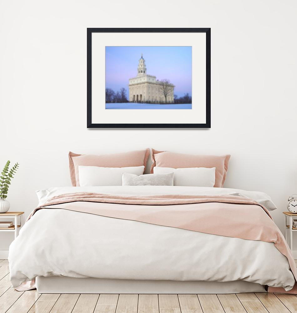 """""""Nauvoo Temple / Winter""""  by TerrySpringer"""