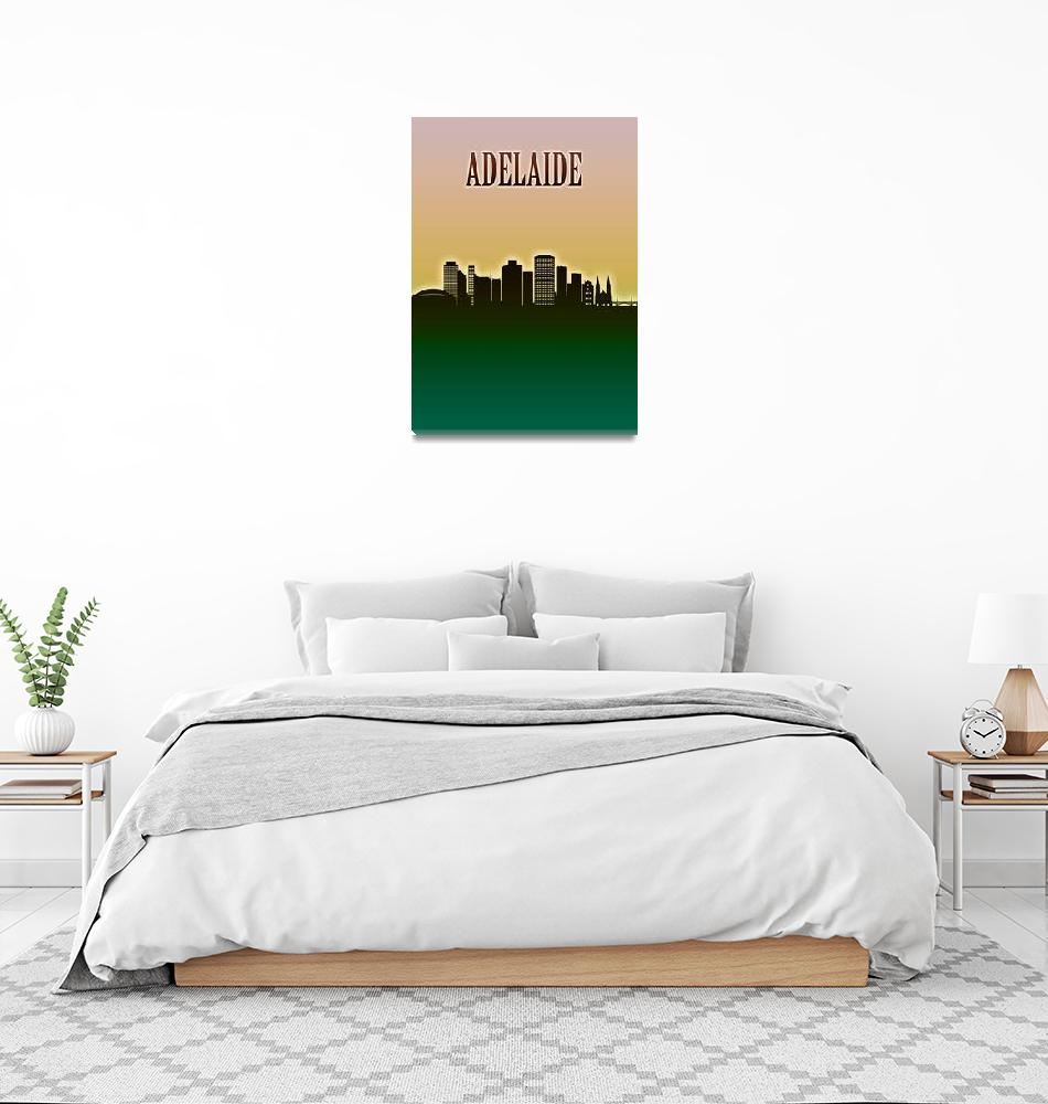 """""""Adelaide Skyline""""  by Towseef"""