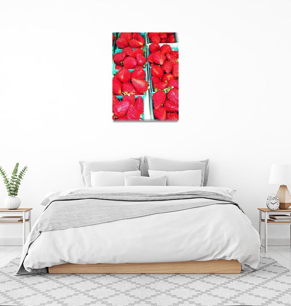 """""""Strawberries""""  (2009) by jupiterqueen"""