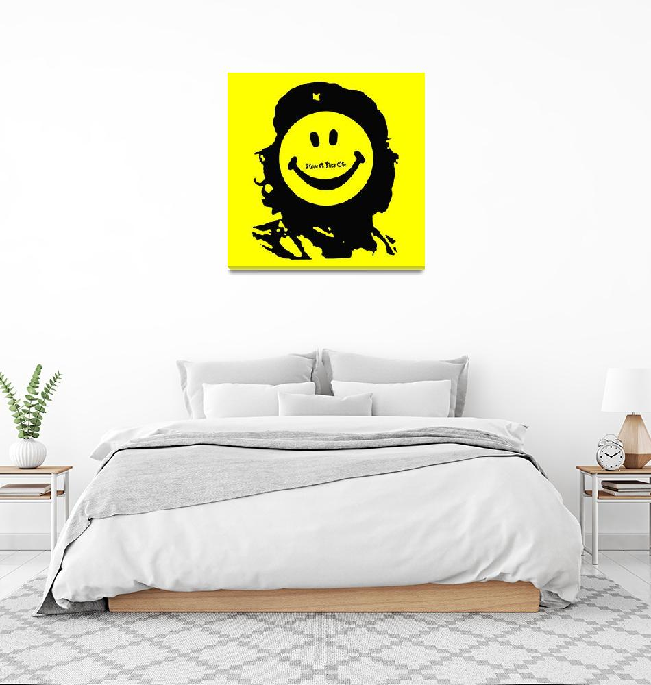"""Have A Nice Che Guevara""  (2018) by RubinoFineArt"