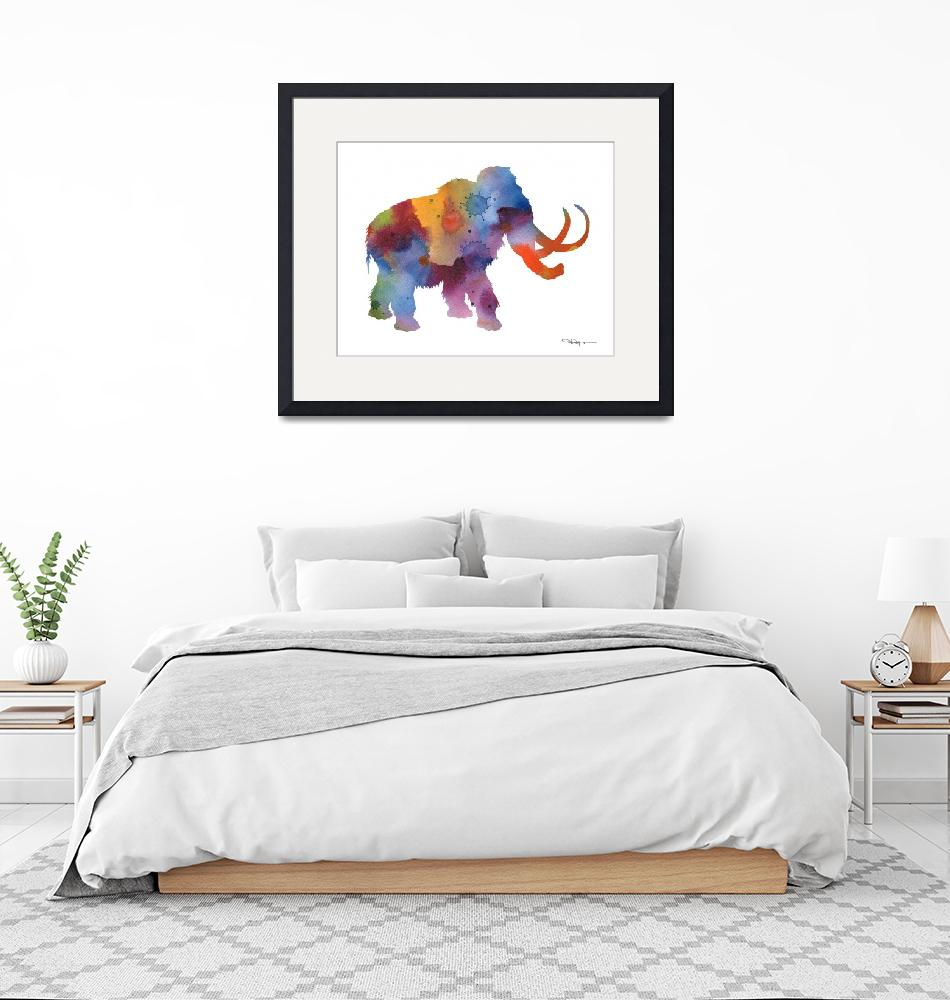 """Mammoth""  (2015) by k9artgallery"
