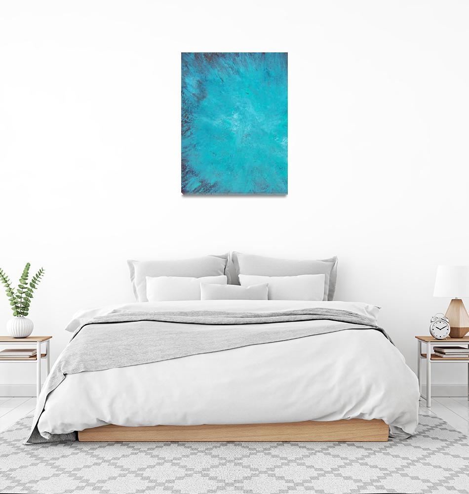 """Acryllic-Abstract-7"" by shawnballard"