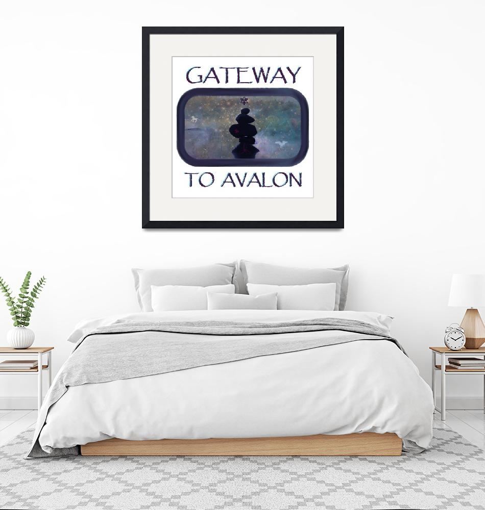 """""""Gateway to Avalon""""  (2018) by 8thThought"""