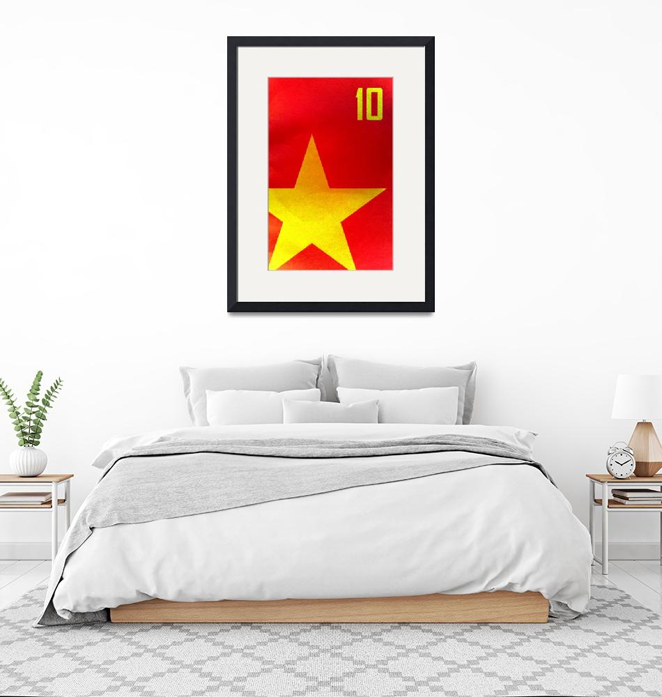 """Spain (World Cup Poster)""  (2010) by dac101"