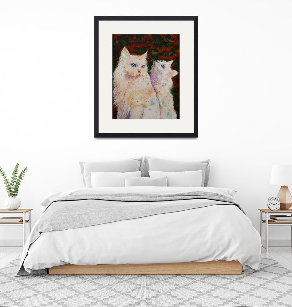 """""""White Cats""""  by creese"""