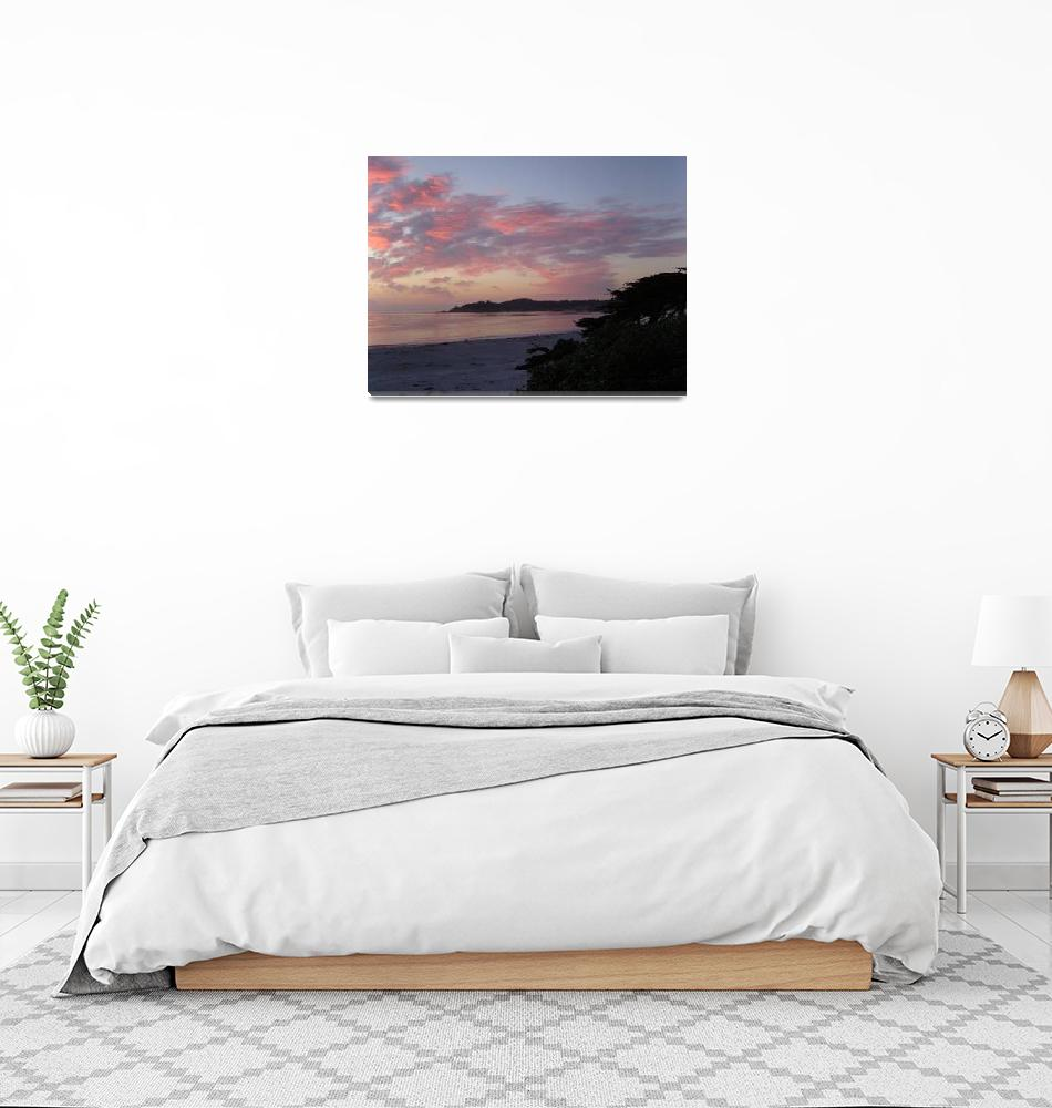 """beach sunset 2""  (2006) by kreinke"