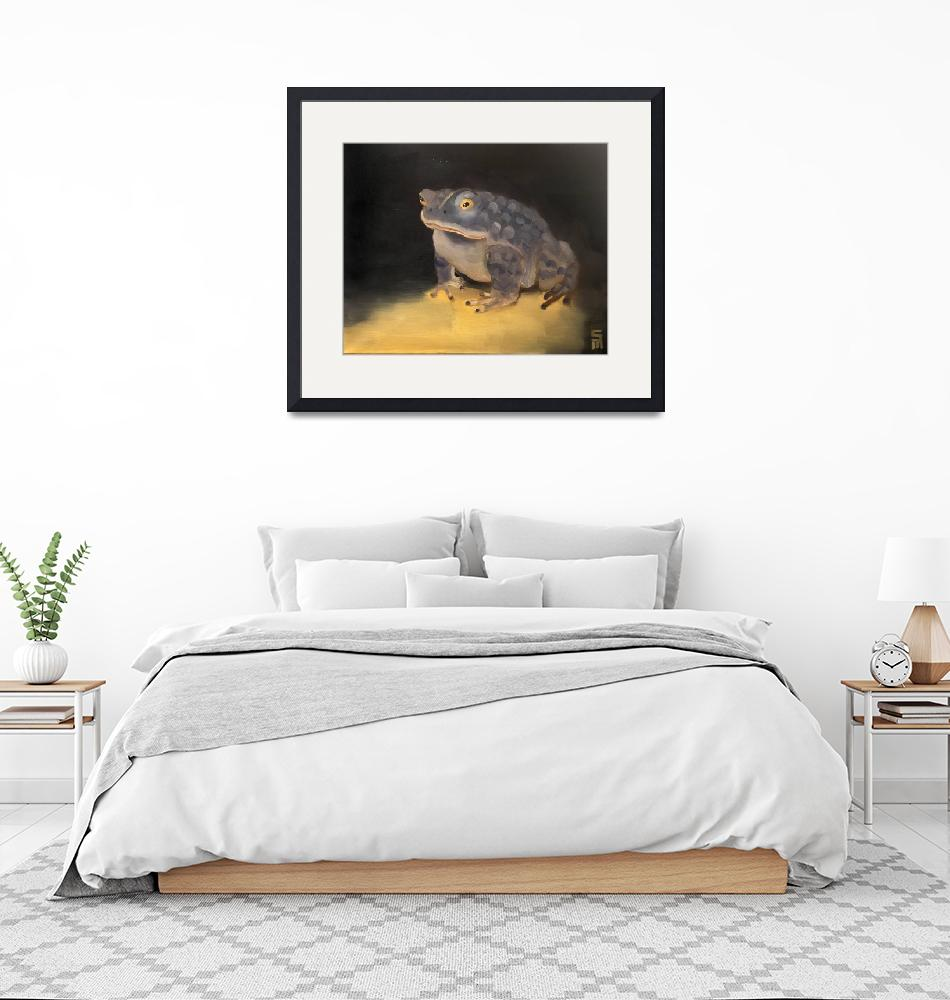 """""""Toad""""  (2018) by stephenmcdonoughart"""