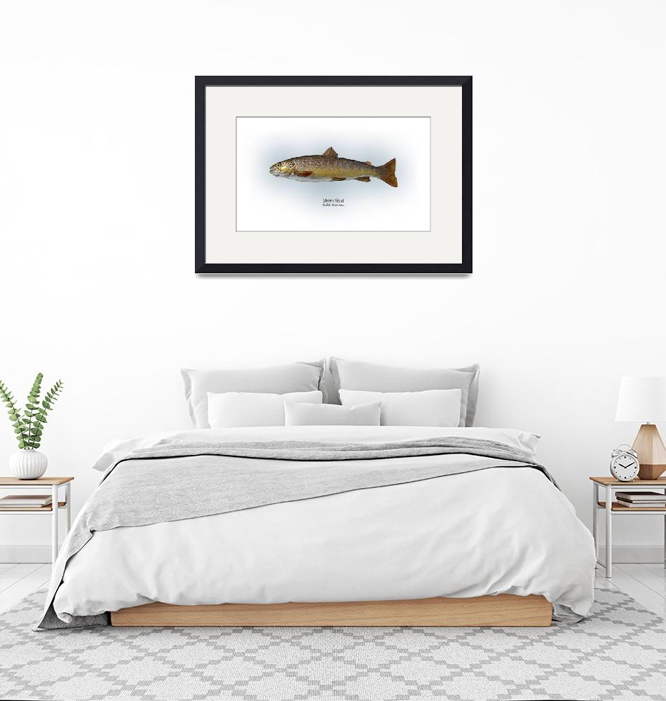 """""""Brown Trout""""  by RalphMartens"""