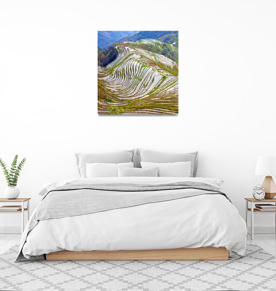 """""""Ping An Mountain Terraces""""  (2017) by FJ_Photography"""