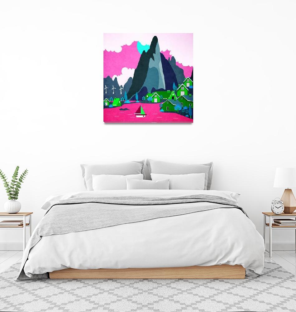"""Norway - Landscape 13""  by Design4uStudio"