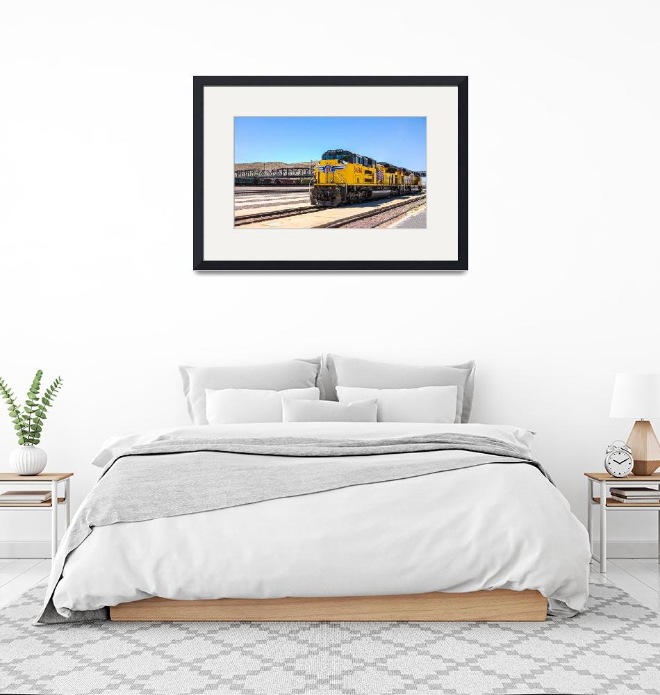 """""""Union Pacific near Route 66""""  (2008) by dbwalton"""