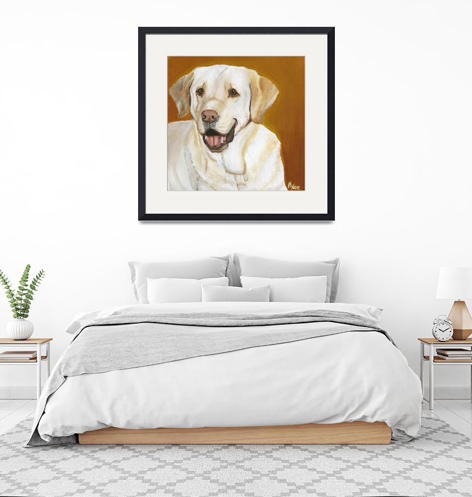 """Yellow Lab""  by MichelleNoe"