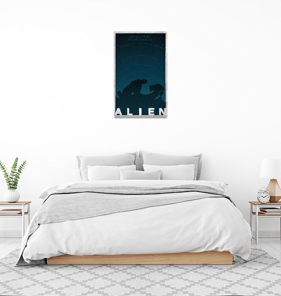 """""""ALIEN derelict ship signal version""""  (2010) by TravisPitts"""