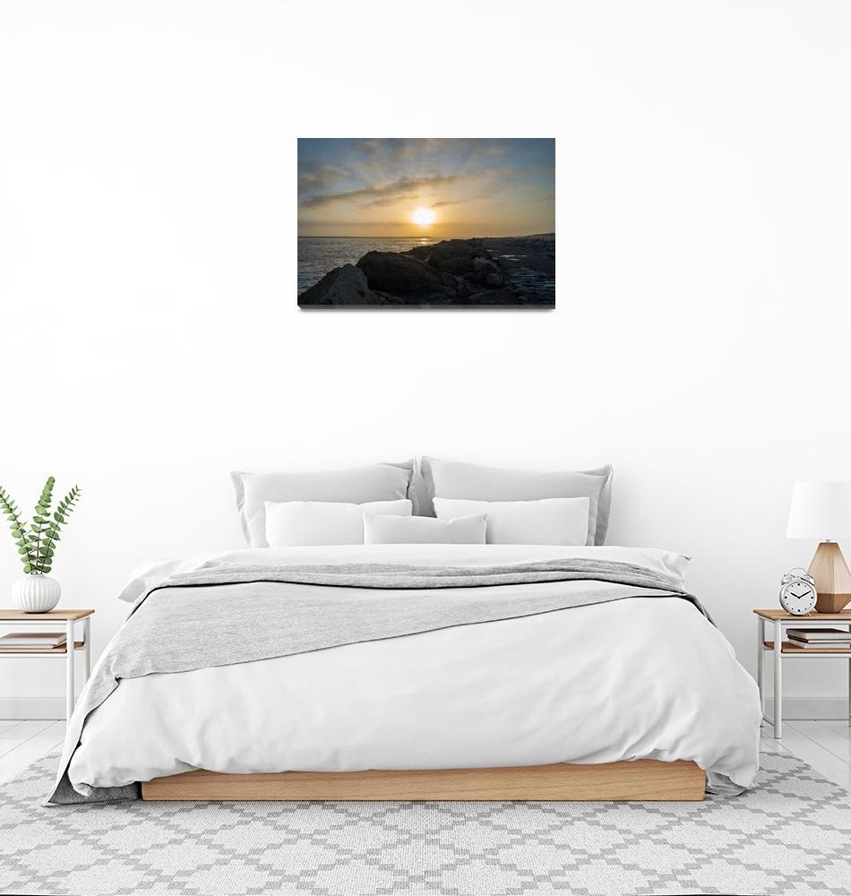 """Samoa Dunes Sunset""  (2015) by goatlockerguns"