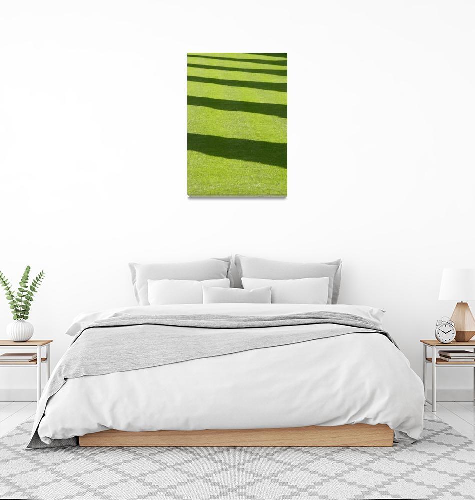 """""""Grass New Abbey""""  (2006) by kenart"""