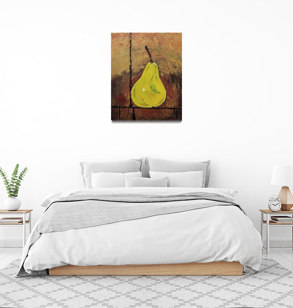 """A Pear Above"" (2010) by MaggieBernet"