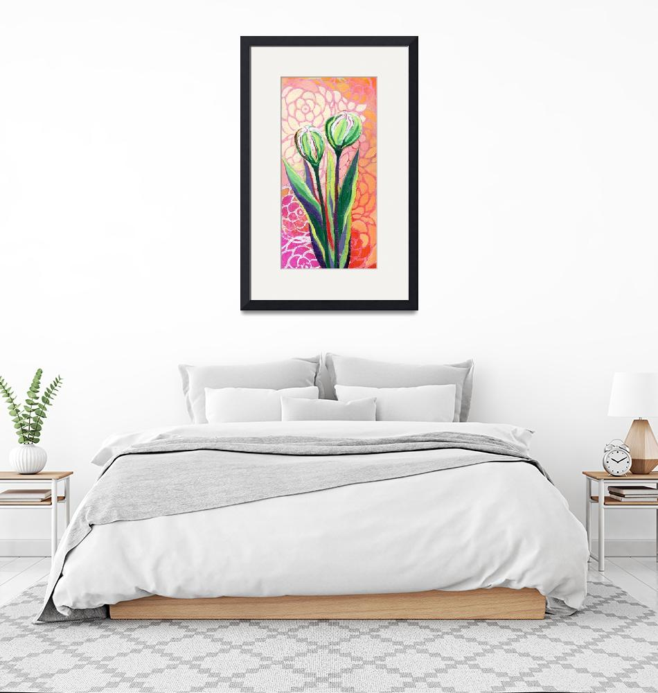 """""""About to Bloom""""  (2019) by JENLO"""