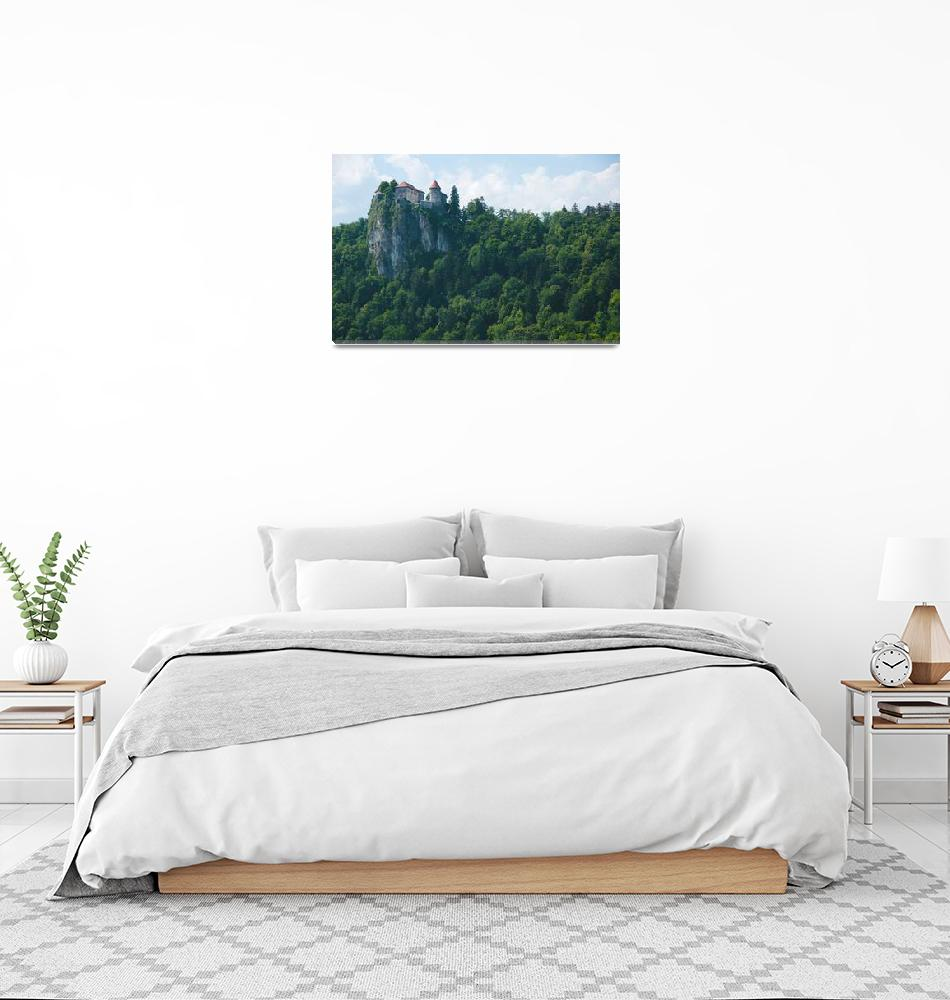 """""""Bled Castle""""  (2014) by pkotter"""