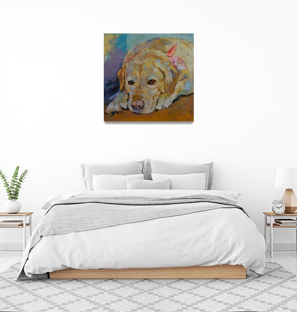 """Yellow Labrador Retriever""  by creese"