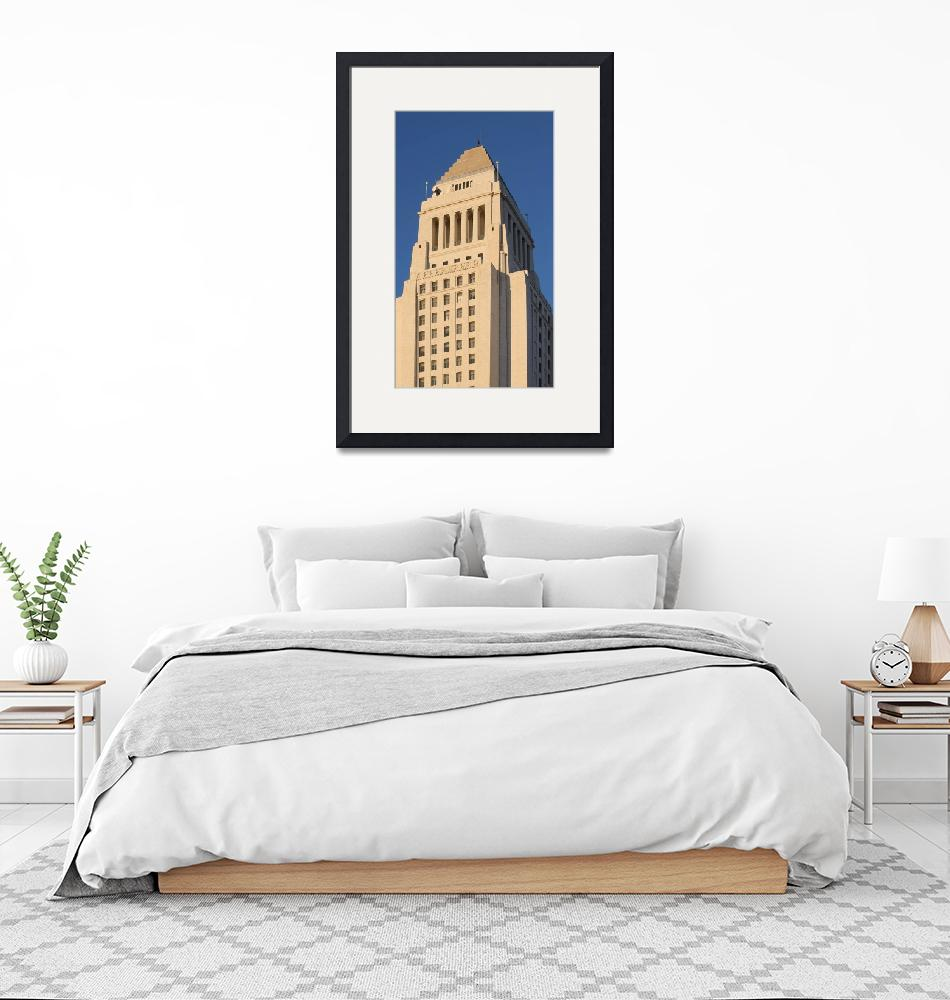 """""""Los Angeles City Hall""""  (2012) by hlehnerer"""