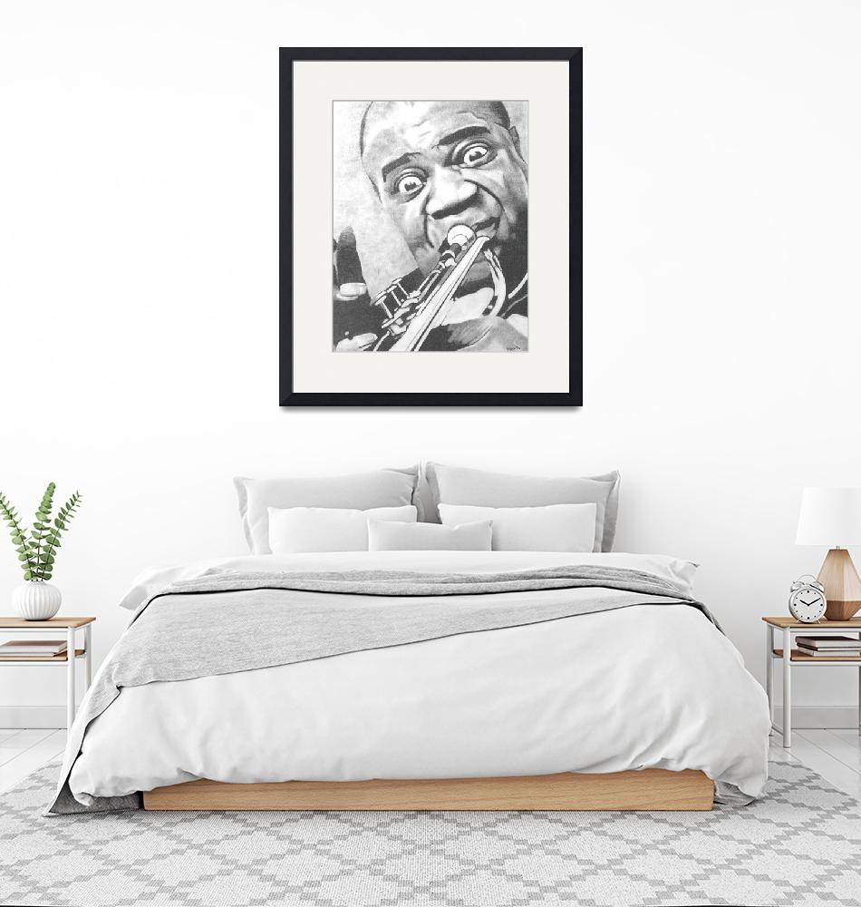 """""""Louis Armstrong"""" (2006) by ippolito"""