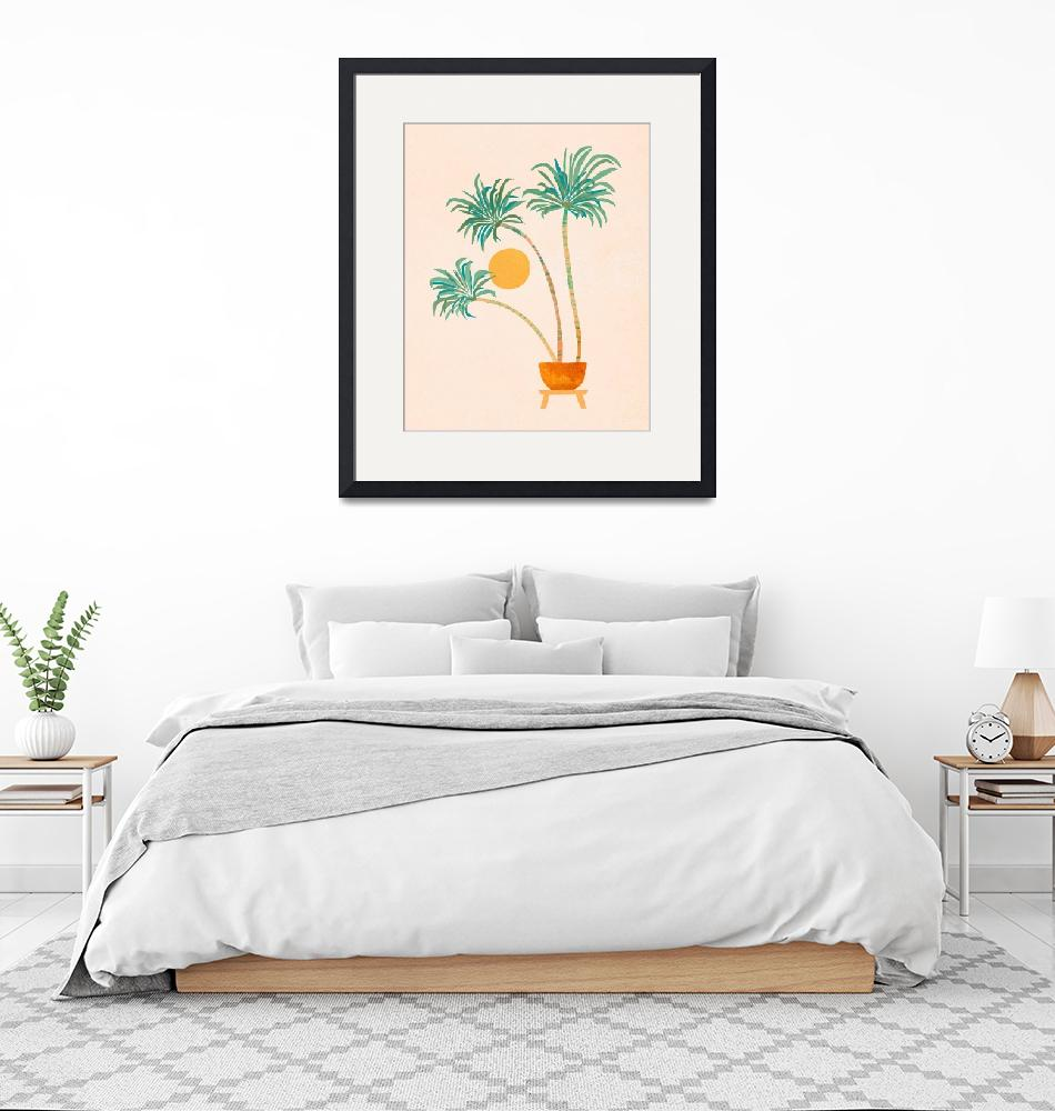 """""""SoCal Palms""""  (2020) by moderntropical"""