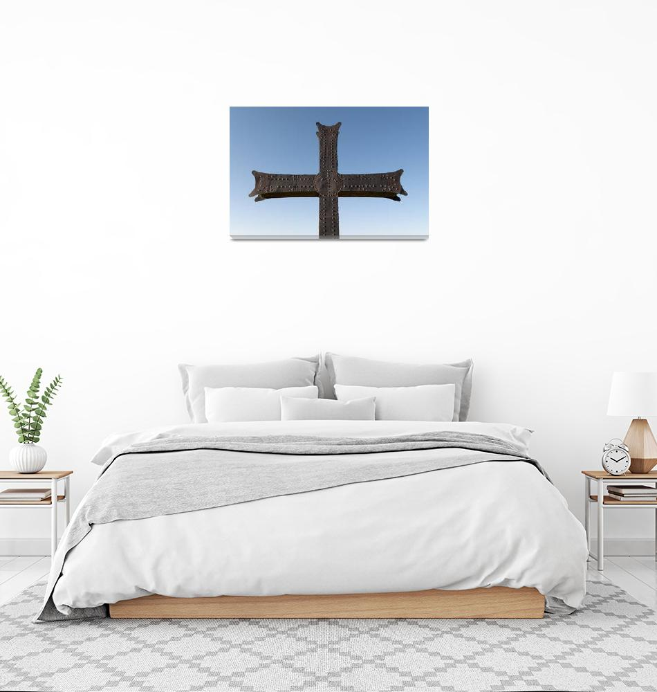 """Georgian Orthodox Cross, Bagrati,Cathedral""  by petrsvarc"